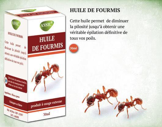 Huile de Fourmis