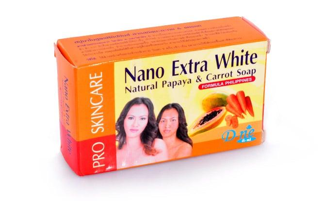 SAVON NANO EXTRA WHITE